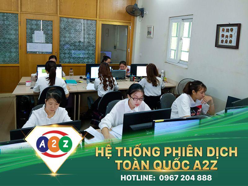 Phiên dịch tiếng Pháp tại Thái Nguyên