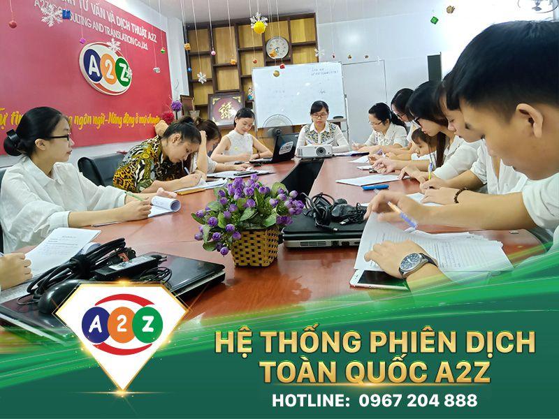 Phiên dịch tiếng Anh tại Hà Tĩnh