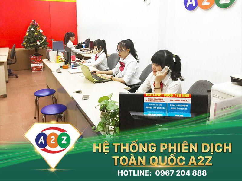 Phiên dịch tiếng Thái Lan tại Long An