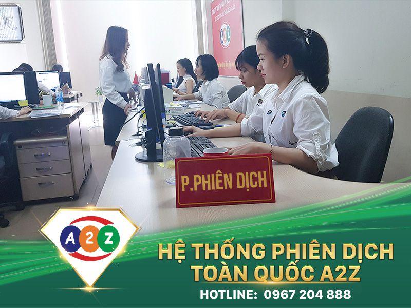 Phiên dịch tiếng Lào tại Phủ Lý - Hà Nam