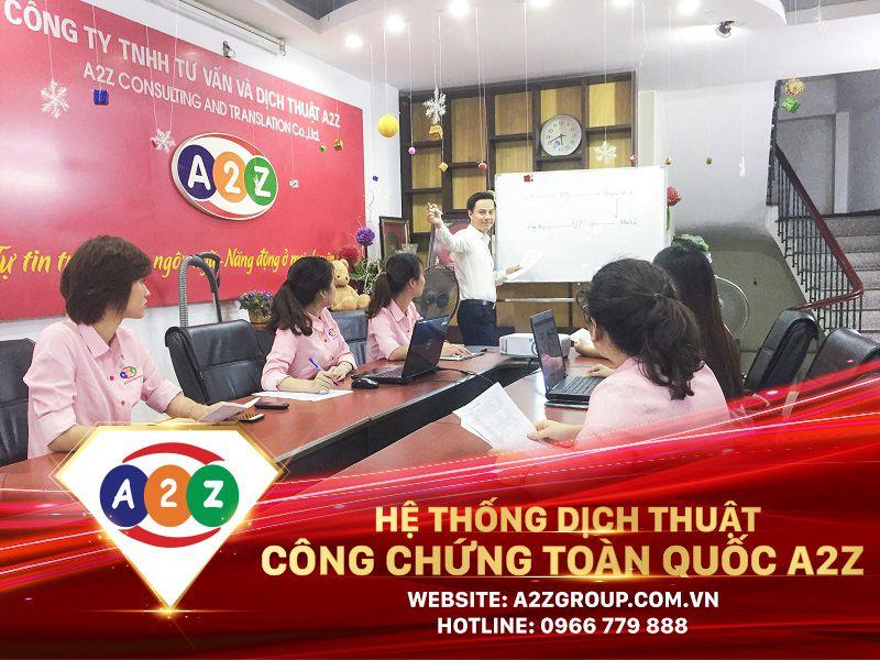 Dịch thuật công chứng tại Bắc Giang