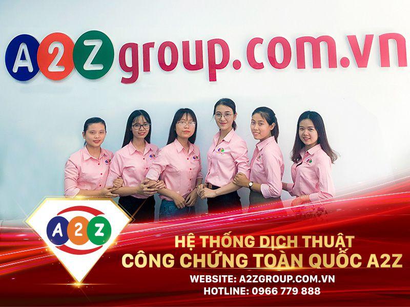 Dịch thuật công chứng tại Thái Bình