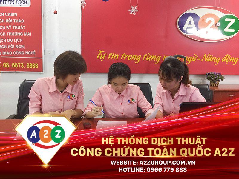 Dịch thuật công chứng tiếng Nga tại Thái Nguyên