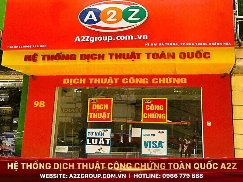 Dịch thuật công chứng tiếng Trung tại Quảng Ninh