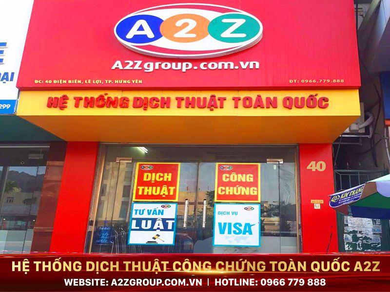 Dịch thuật công chứng tiếng Anh tại Nam Định