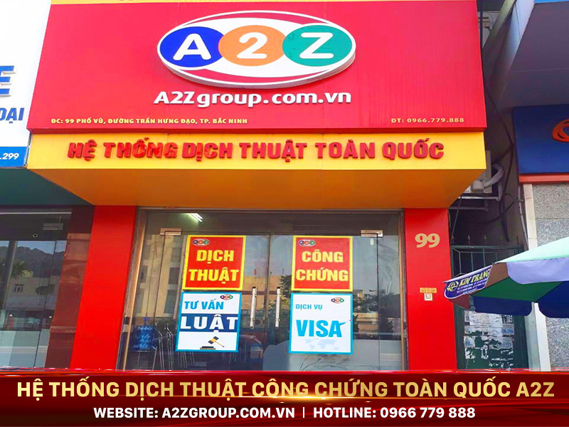 Dịch thuật - công chứng tiếng Pháp tại Nha Trang – Khánh Hòa