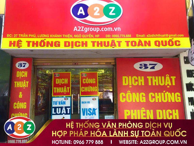 Hợp pháp hóa lãnh sự tại Nam Định