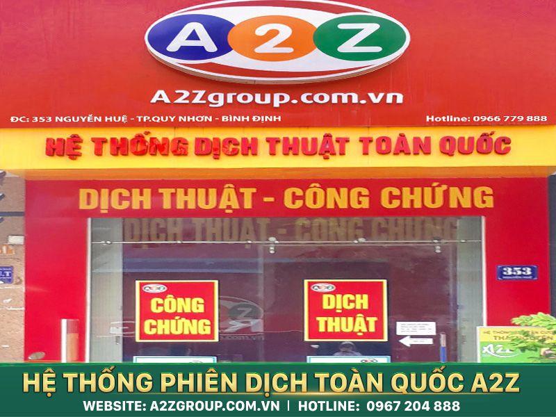Phiên dịch tiếng Tây Ban Nha tại Việt Trì - Phú Thọ