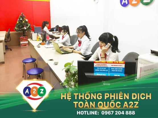 Phiên dịch tiếng Myanmar tại Tiền Giang