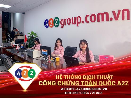 Dịch thuật công chứng tiếng Thái Lan tại Hưng Yên