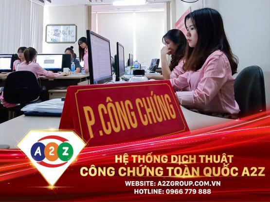 Dịch thuật công chứng tiếng Trung tại Việt Trì - Phú Thọ