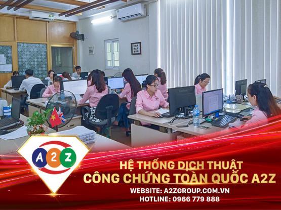 Dịch thuật công chứng tiếng Pháp tại Thái Nguyên