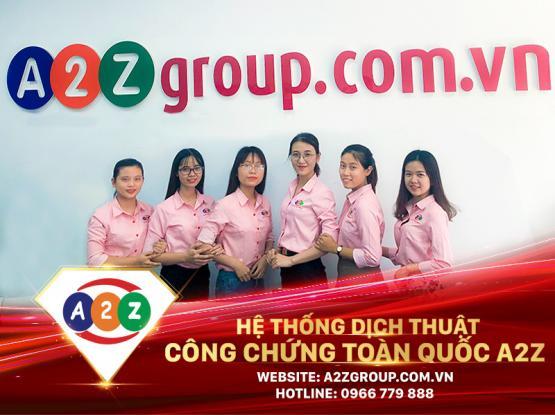 Dịch thuật công chứng tiếng Lào tại Long An