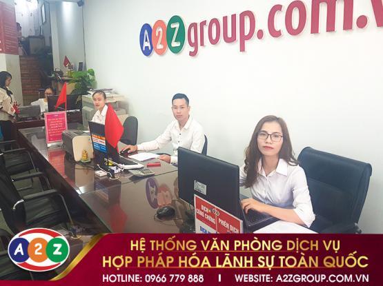 Hợp pháp hóa lãnh sự tại Tân An